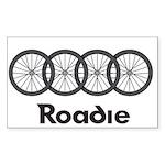 Roadie Cycling - Black Sticker
