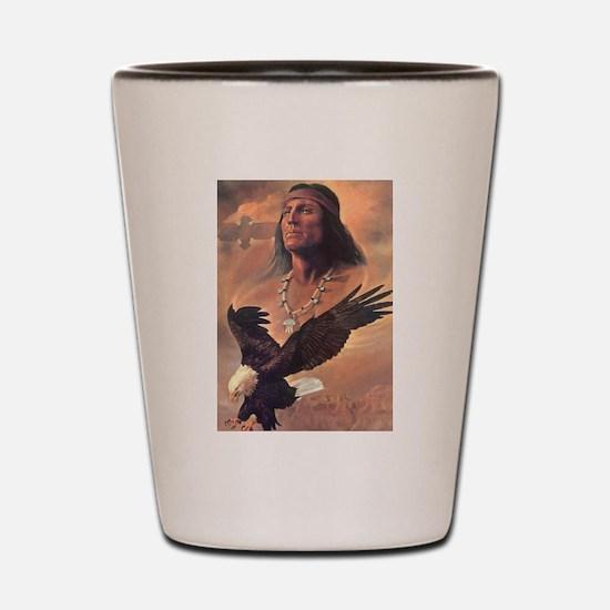 Cute Native Shot Glass
