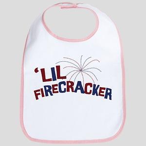 'Lil Firecracker Bib