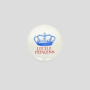 little princess (blue/red) Mini Button