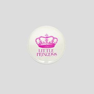 little princess (pink) Mini Button