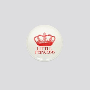 little princess (red) Mini Button