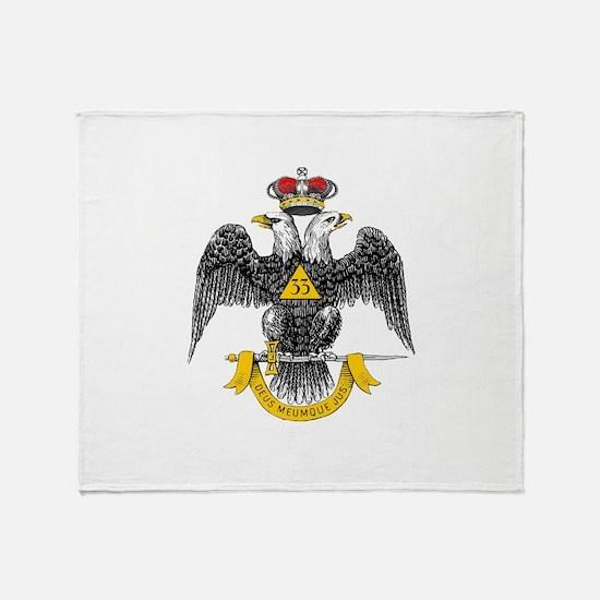 33rd Degree Throw Blanket