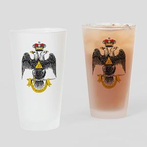 33rd Degree Pint Glass