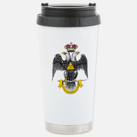33rd Degree Stainless Steel Travel Mug