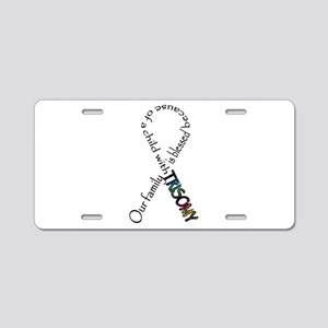 Blessed life Aluminum License Plate