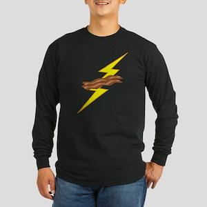 Bacon Storm Long Sleeve Dark T-Shirt