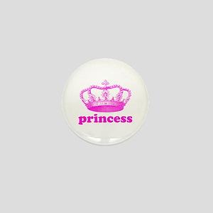 princess (pink) Mini Button
