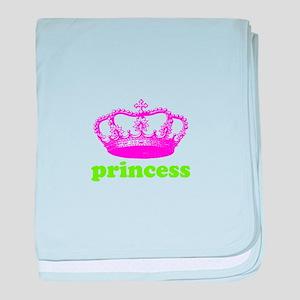 princess (pink/green) baby blanket