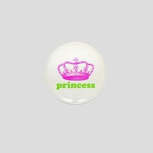 princess (pink/green) Mini Button