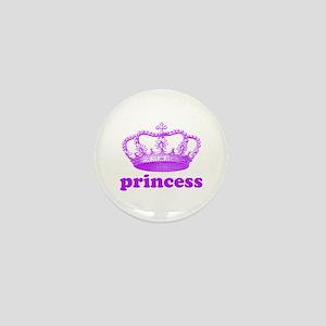princess (purple) Mini Button