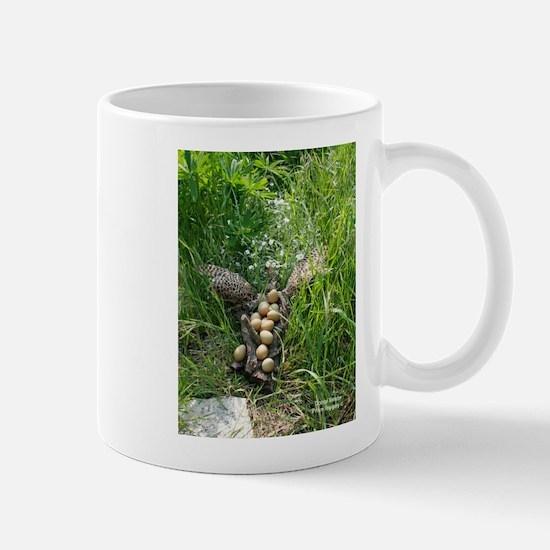 Pheasant Abstract Mug