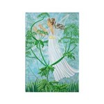Fairy Music Rectangle Magnet (10 pack)