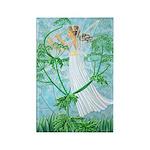 Fairy Music Rectangle Magnet