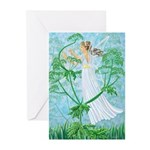 Fairy Music Greeting Cards (Pk of 10)