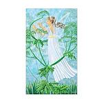 Fairy Music Rectangle Sticker