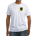 32nd degree Master Masons Eagle Fitted T-Shirt