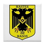 32nd degree Master Masons Eagle Tile Coaster