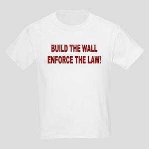 Build The Wall Kids Light T-Shirt