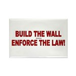 Build The Wall Rectangle Magnet (100 pack)