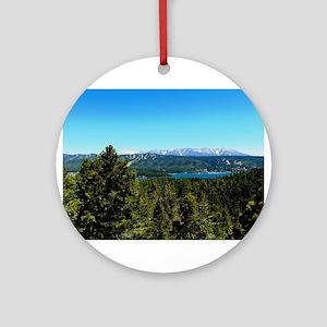 Big Bear Lake Ornament (Round)
