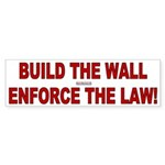 Build The Wall Sticker (Bumper)