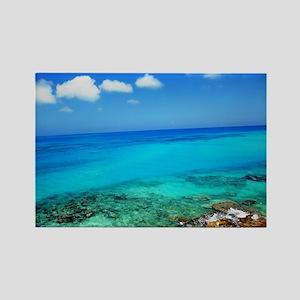 Bermuda Coast Rectangle Magnet