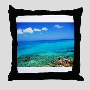 Bermuda Coast Throw Pillow