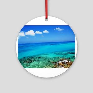 Bermuda Coast Ornament (Round)