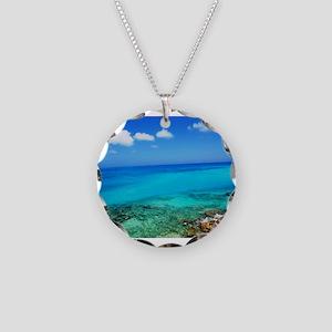 Bermuda Coast Necklace Circle Charm