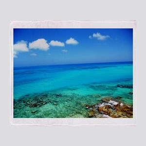 Bermuda Coast Throw Blanket