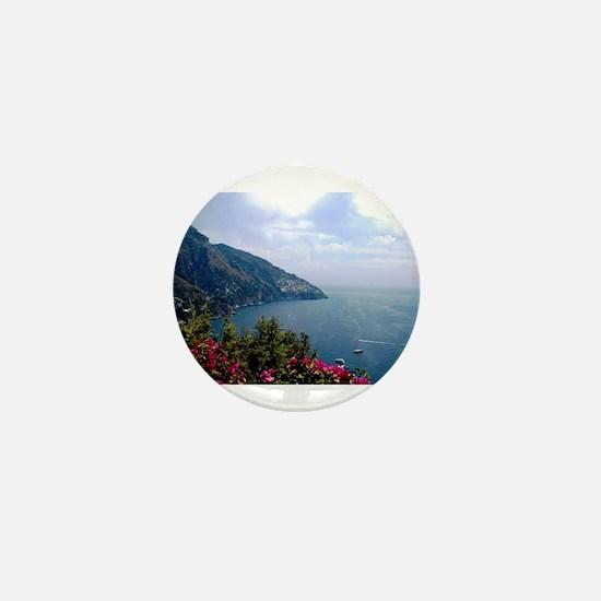 Amalfi Coast, Italy Mini Button