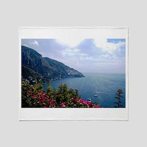 Amalfi Coast, Italy Throw Blanket