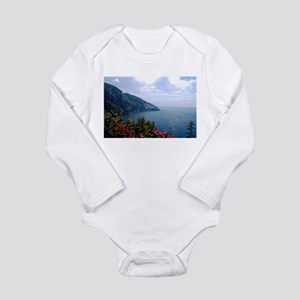 Amalfi Coast, Italy Long Sleeve Infant Bodysuit