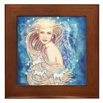 Unicorn Dream Framed Tile