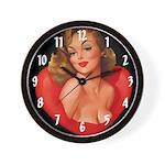 Sexy Woman Wall Clock