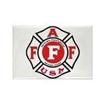 AAFF Firefighter Rectangle Magnet