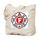 AAFF Firefighter Tote Bag