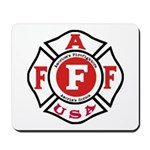 AAFF Firefighter Mousepad