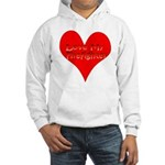 Love My Firefighter Hooded Sweatshirt