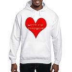 Love My Firefighter Hooded Sweatshirt