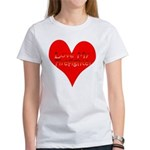 Love My Firefighter Women's T-Shirt