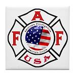 AAFF Firefighter Tile Coaster