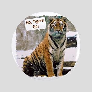 "Go Tigers, Go! 3.5"" Button"