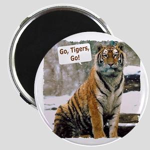 Go Tigers, Go! Magnet