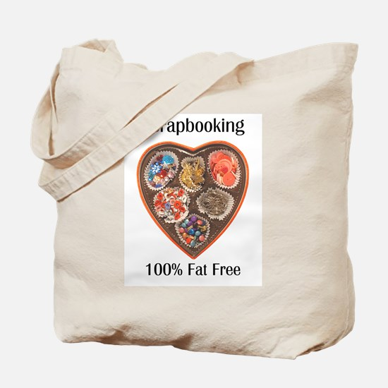 scrapbooking 100% Fat Free Tote Bag