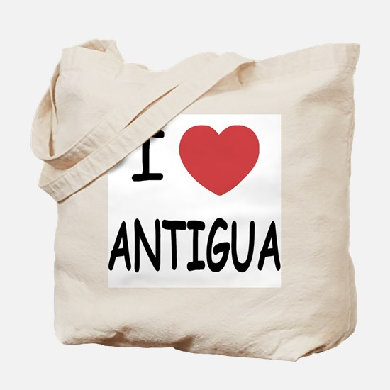 I heart antigua Tote Bag