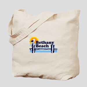 Bethany Beach DE - Pier Design. Tote Bag