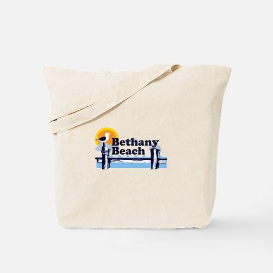 Bethany Beach DE - Pier Design. Tote Bag