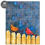 Cardinals on the Fence Puzzle